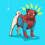 Spider Man Dog