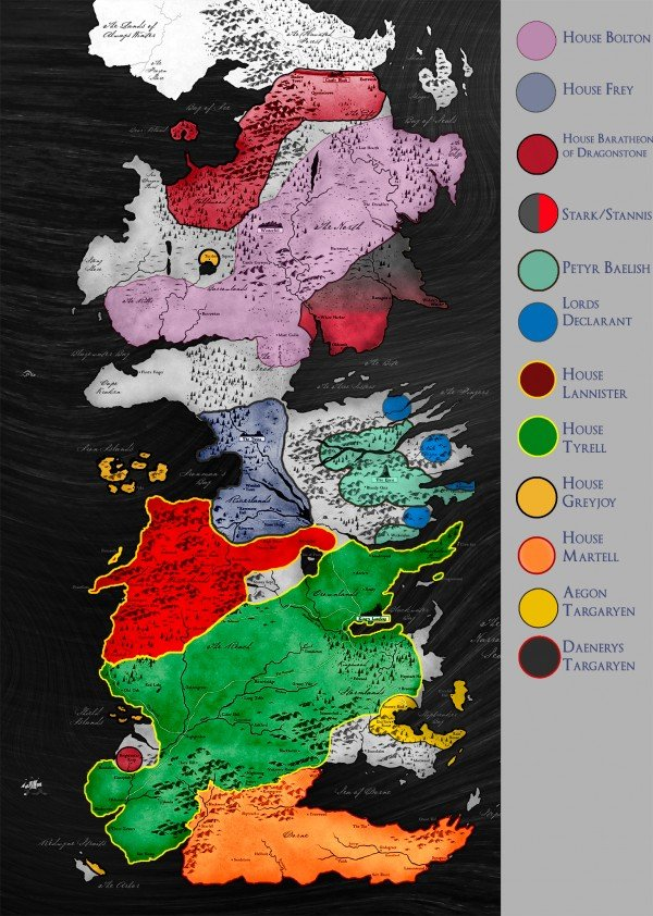 TWOW Political Map