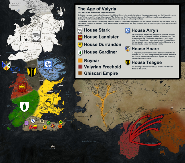 The age of Valyria