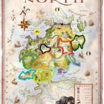 The north borders