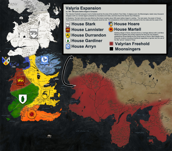 Valyria expansion