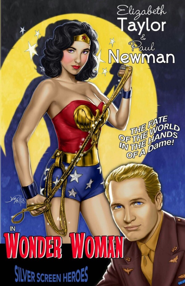 Wonder Woman Old Time
