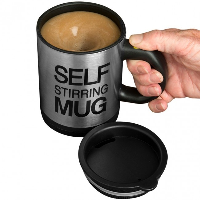 Gadgets for men self-stirring mug 1