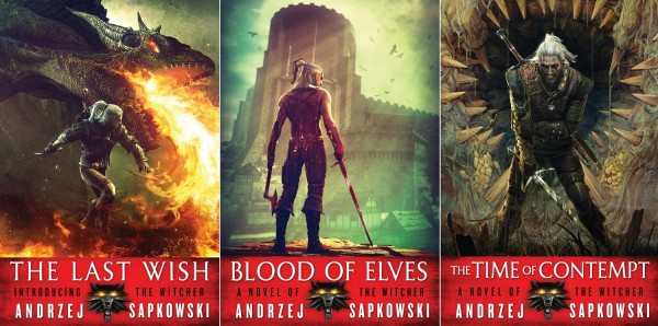 Witcher books