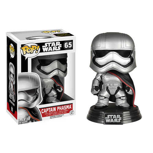Captain Phasma Funko pop Bobblehead