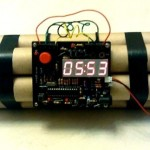 Defusable Bomb Alarm Clock 1