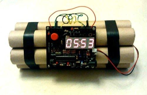 Defusable Bomb Alarm Clock 1