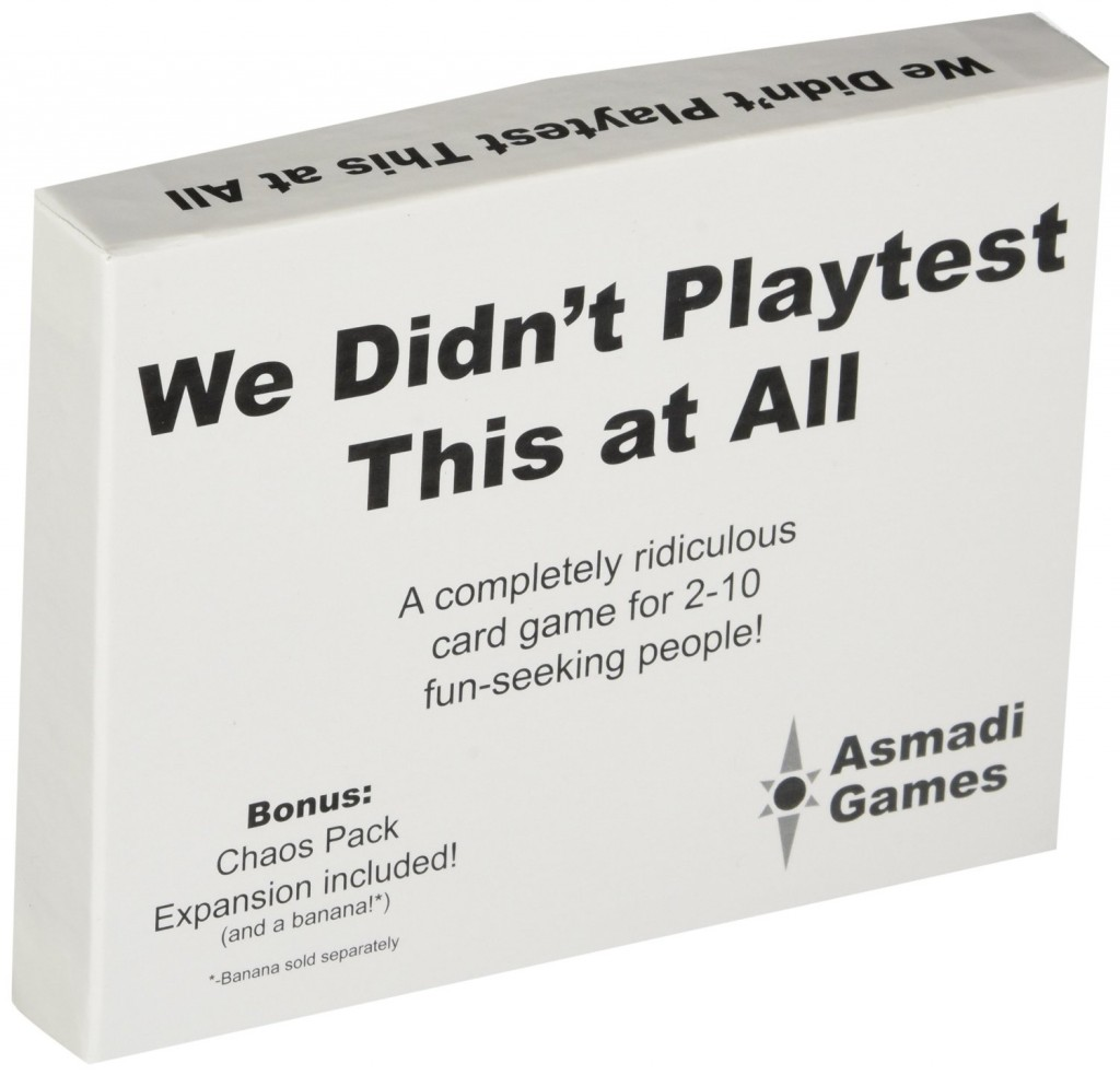 Party Games for Geeks We Didn't Playtest This At All