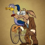 Road Runner & Will E Coyote