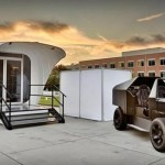 3D Printed House and Electric Vehicle 01