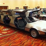Back to The Future 2015 car