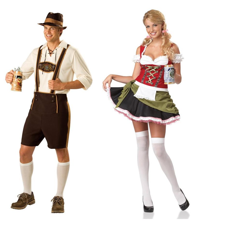 Bavarians Couples Costumes