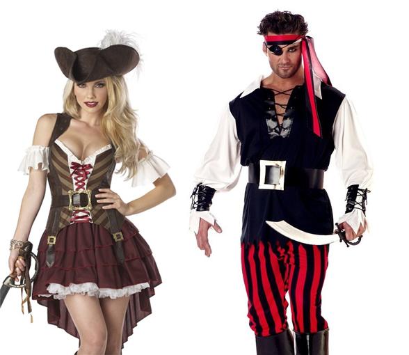 Costumes Pirates