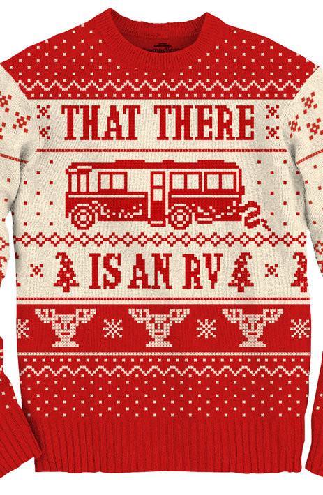 Geekiest Christmas Sweaters Eddie RV