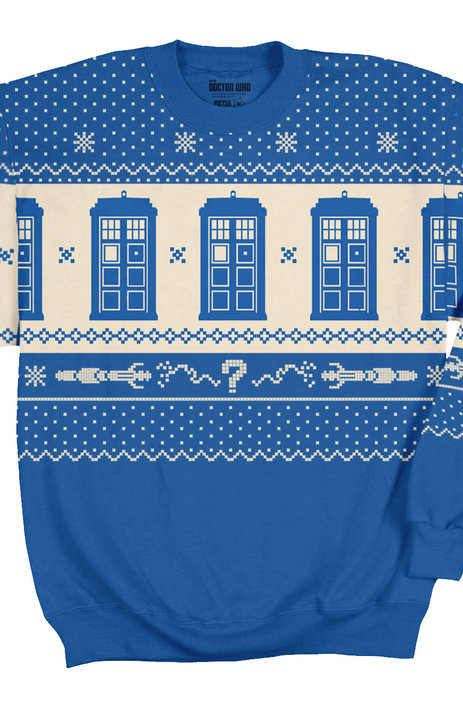Geekiest Christmas Sweaters doctor who 1
