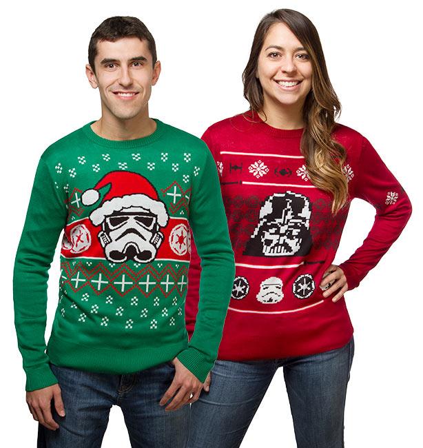 Geekiest Christmas Sweaters star wars 1