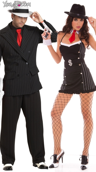 Halloween-Couples-Costumes-Gangsters  sc 1 st  Walyou & Halloween-Couples-Costumes-Gangsters | Walyou