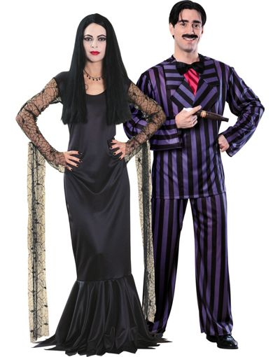 Halloween-Couples-Costumes-Ideas-Adams-Family