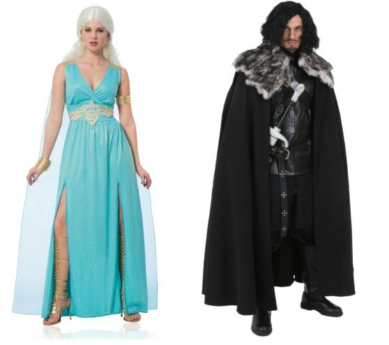 Halloween-Couples-Costumes-Ideas-Daenerys-Jon-Snow-Game-of-Thrones