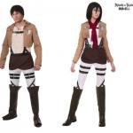 Halloween-Couples-Costumes-Ideas-Eren-Mikasa-Attack-on-Titan