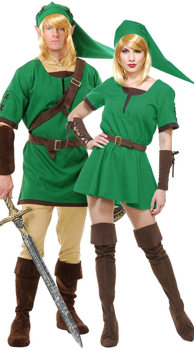 Halloween-Couples-Costumes-Ideas-Legend-of-Zelda  sc 1 st  San Diego Omnium & Couple De Légende Zelda - San Diego Omnium