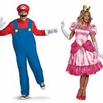Halloween-Couples-Costumes-Ideas-Mario-Peach