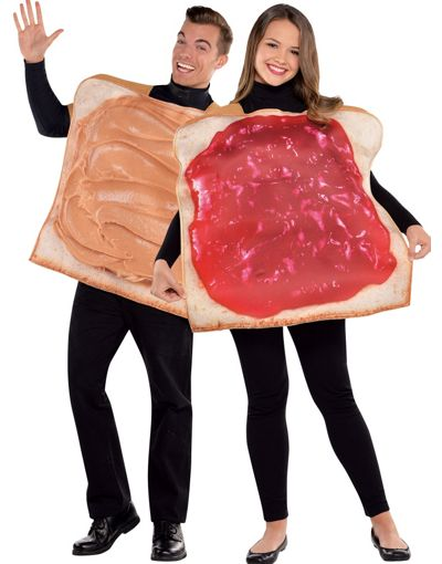 Halloween-Couples-Costumes-Ideas-Peanut-Butter-Jelly