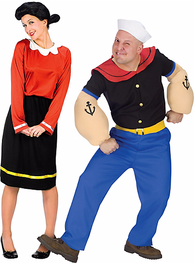 Halloween-Couples-Costumes-Ideas-Popeye-Olive