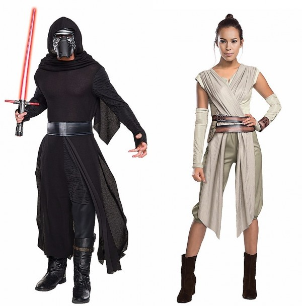 50 couples halloween costumes ideas for 2015 walyou halloween couples costumes ideas rey kilo ren solutioingenieria