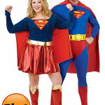 Halloween-Couples-Costumes-Ideas-Superman-Supergirl