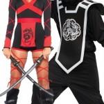 Halloween-Couples-Costumes-Ninjas