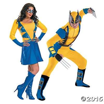 Halloween-Couples-Costumes-Wolverine