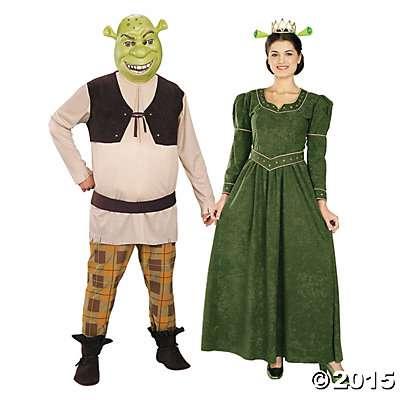 Halloween-Couples-Costumes-shrek-fiona