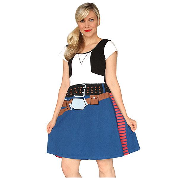Han Solo Costume A-Line Dress
