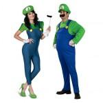 Male & female Luigi (Super Mario Bros)