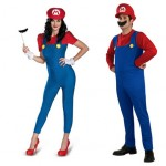 Male & female Mario (Super Mario Bros)