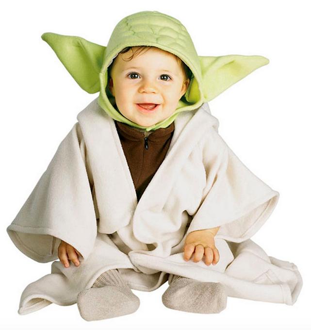 Star Wars Costumes for Kids Baby Yoda Costume 1