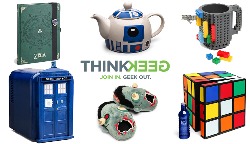 geek shopping ideas think geek