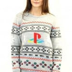 geeky  PlayStation Christmas Sweater