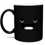 8 Bit Rise and Shine Heat Change Mug