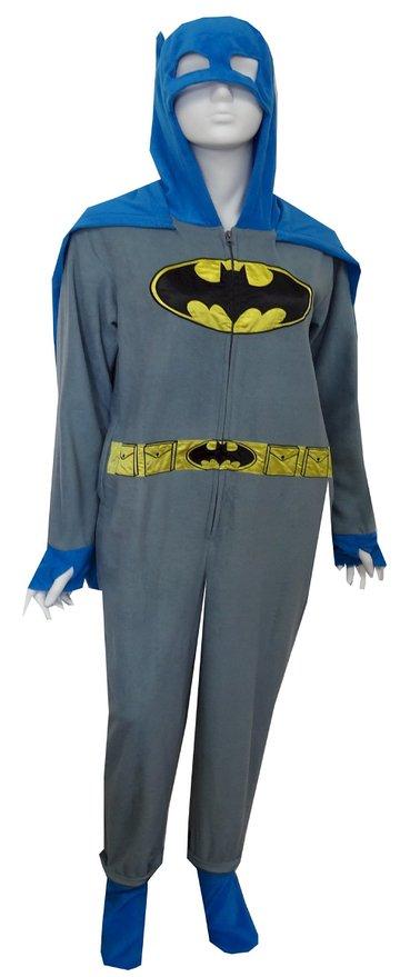 Batman Grey Union Suit Pajamas