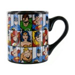 DC Comics Characters Grid 14 oz. Ceramic Coffee Mug