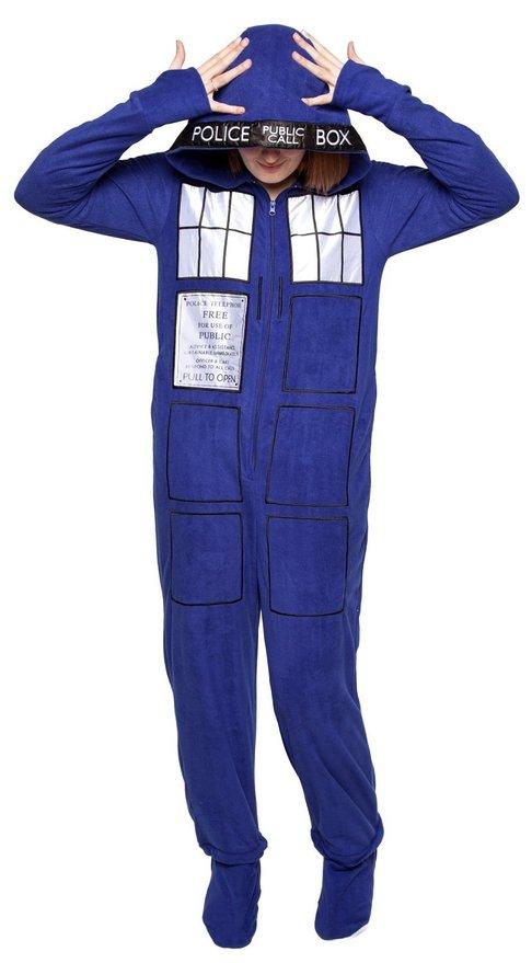 Doctor Who- Tardis Pajamas