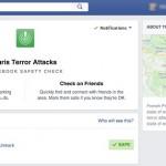 Facebook Safety Check – November 2015 Paris Attacks