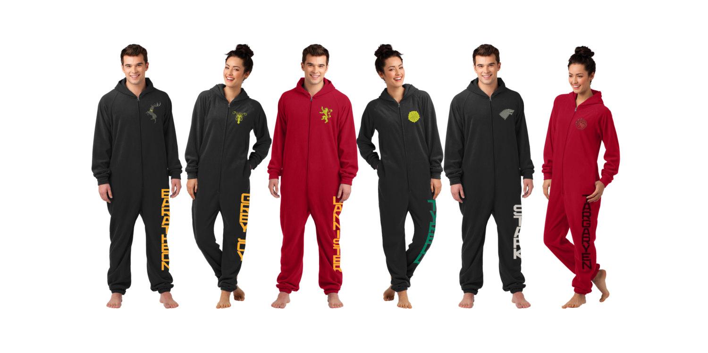 Game of Thrones Adult Onesie  pajamas
