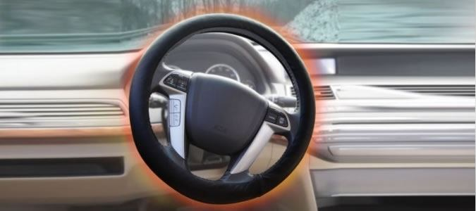 The Full Coverage Heated Steering Wheel Cover