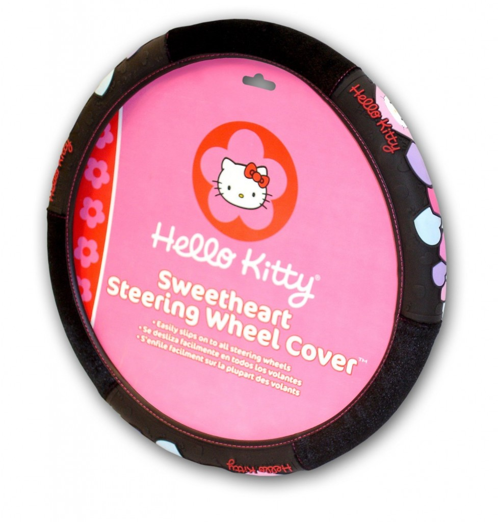 Geeky Car Accesories Hello Kitty Car Seat Cover