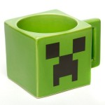 Minecraft Ceramic Creeper Face Mug