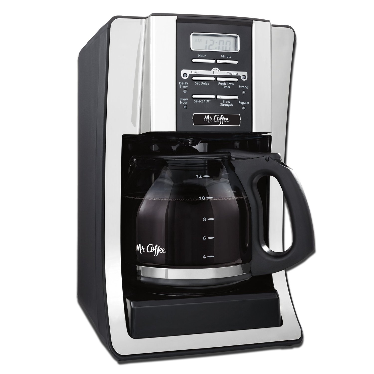Mr. Coffee 12-Cup Programmable Coffeemaker - coffee gadget