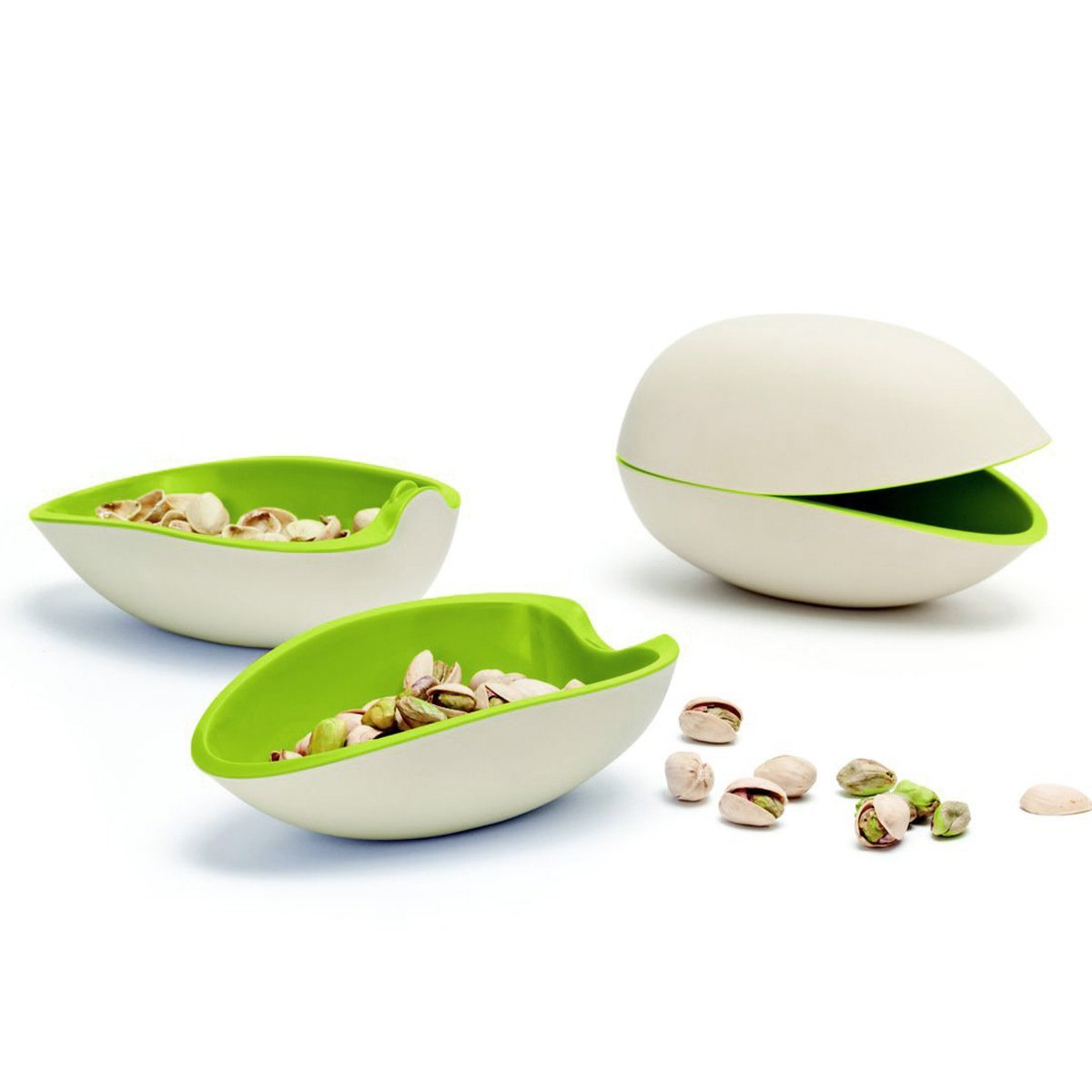 Ototo Pistachio Nuts and Seeds Serving Melamine Bowl Set 1